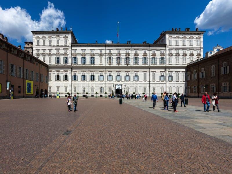 Royal Palace di Torino immagine stock