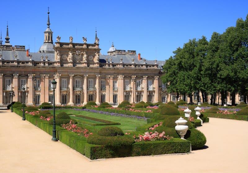 Royal Palace do La Granja de San Ildefonso (Spain) fotos de stock