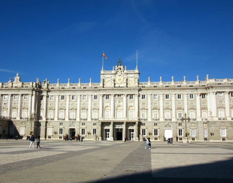 Royal Palace do Madri fotografia de stock