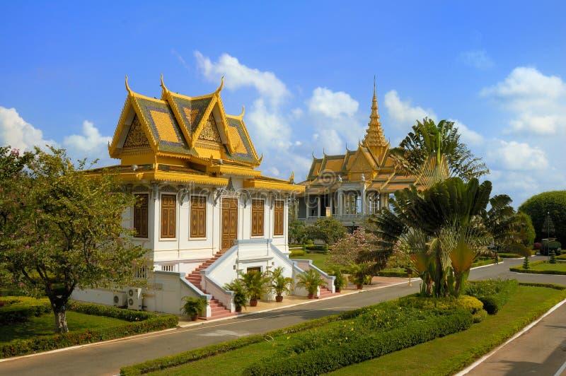Royal Palace du Cambodge #6 photographie stock libre de droits