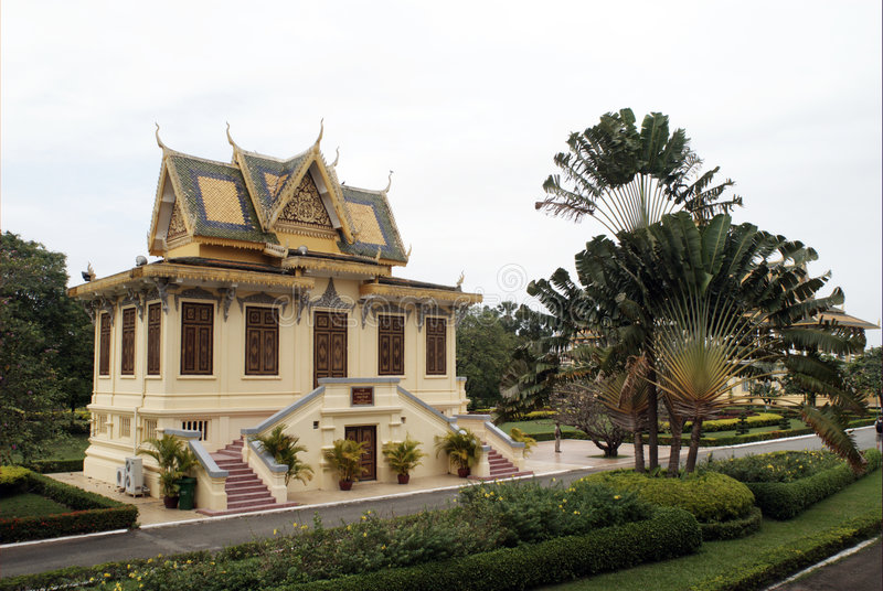 Royal Palace du Cambodge photos stock