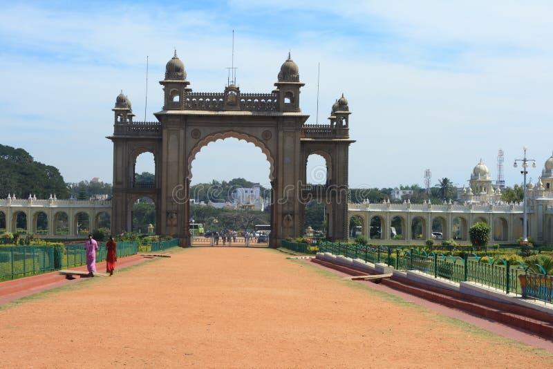 Royal Palace em Mysore-XXVI foto de stock