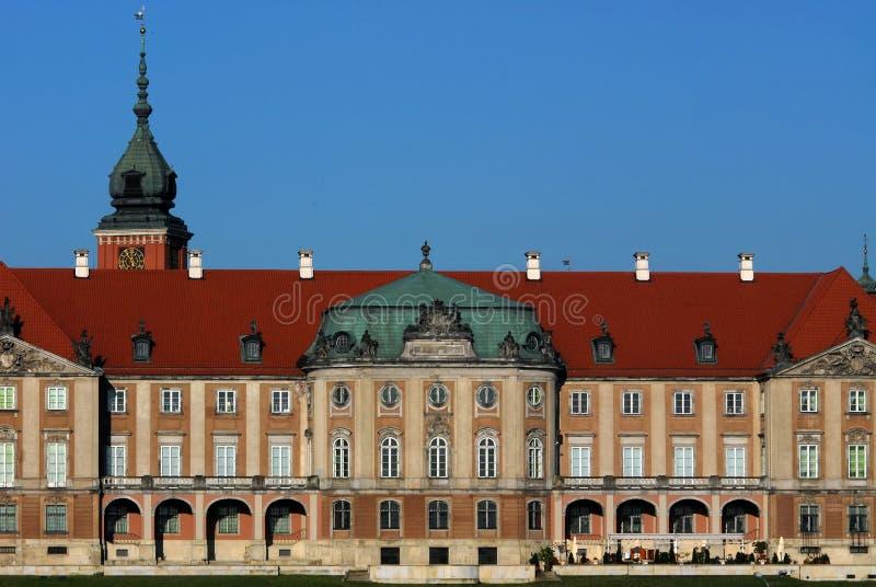 Royal Palace em Varsóvia fotografia de stock