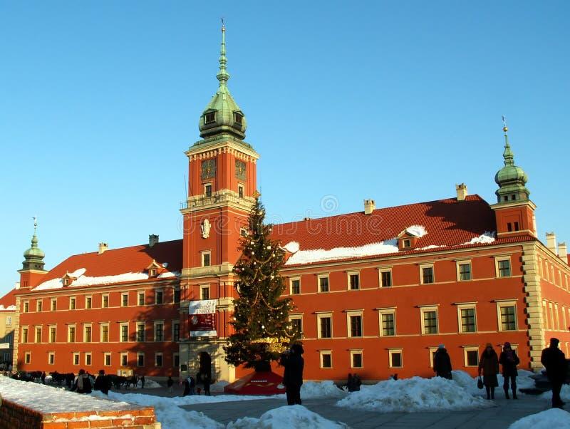 Royal Palace em Varsóvia fotos de stock