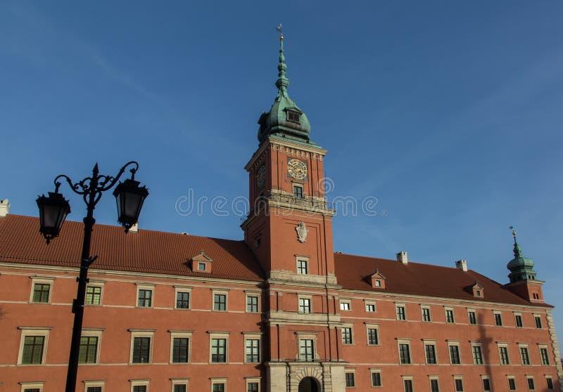 Royal Palace em Varsóvia, Polônia fotografia de stock royalty free