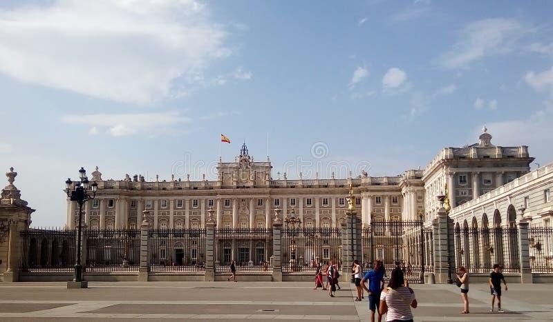 Royal Palace en Madrid imágenes de archivo libres de regalías