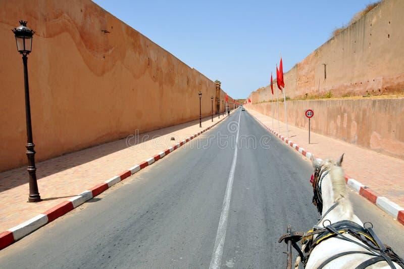 Royal Palace en Meknes Marruecos foto de archivo