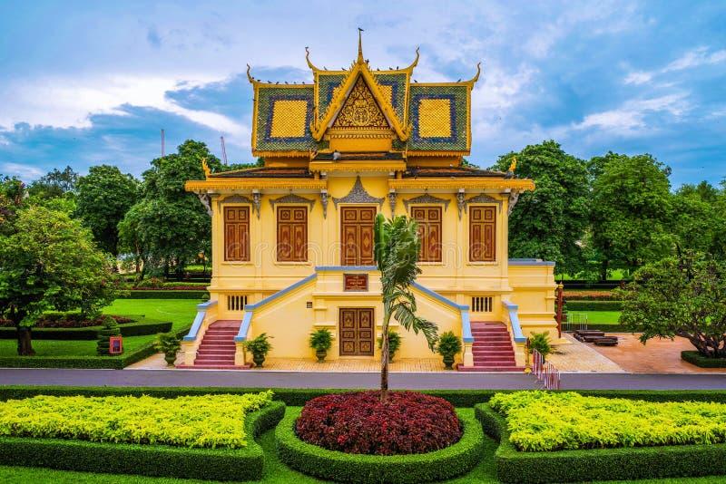 Royal Palace en Phnom Penh, Camboya imágenes de archivo libres de regalías