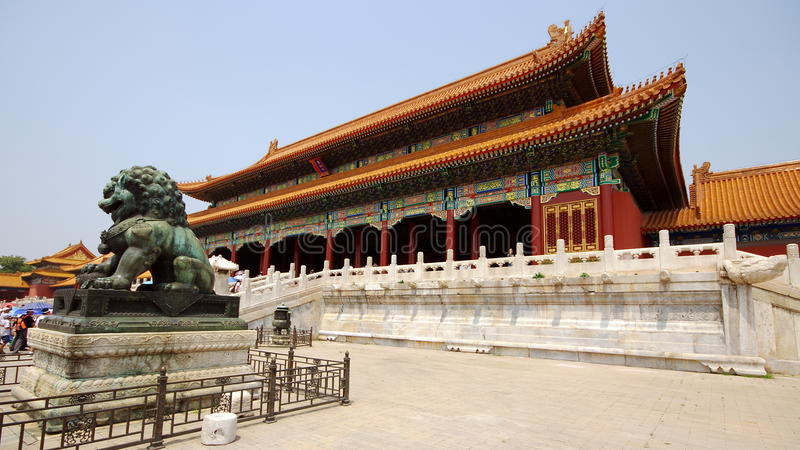 Download Royal Palace In Forbidden City Editorial Stock Image - Image: 12165019