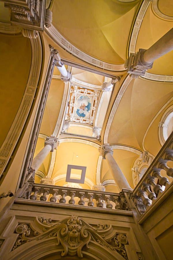 Royal Palace a Genova, Italia fotografie stock libere da diritti