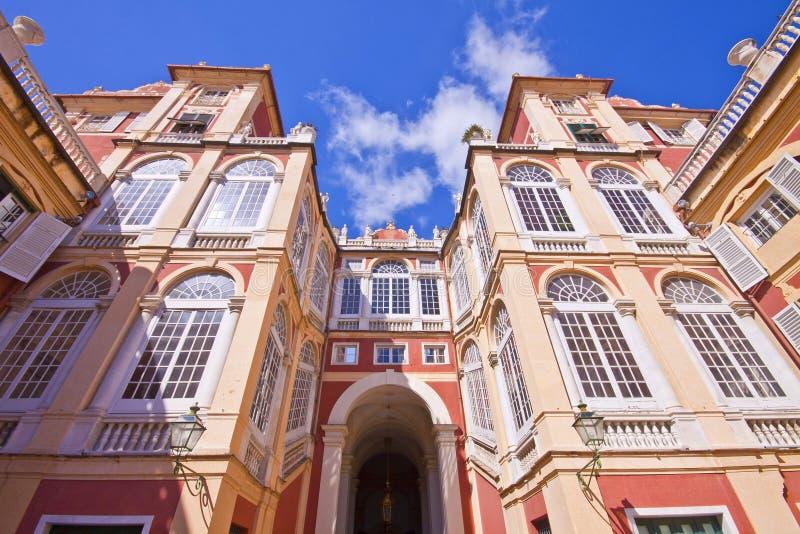 Royal Palace a Genova, Italia immagini stock
