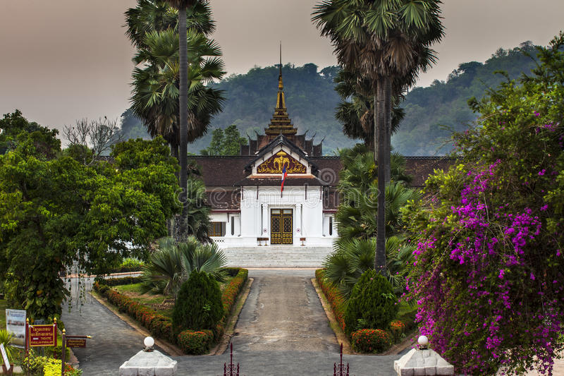Royal Palace(Haw Kham) in Luang Prabang, Laos. stock photography