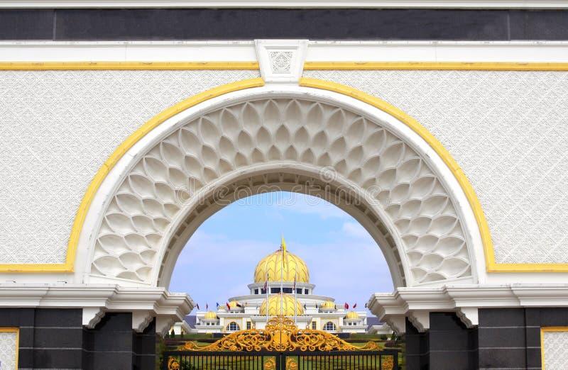 Royal palace Istana Negara, Kuala Lumpur, Malaysia stock image