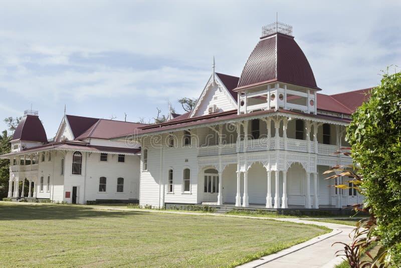 Royal Palace królestwo Tonga zdjęcia stock
