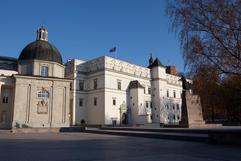 Royal Palace of Lithuania stock photography