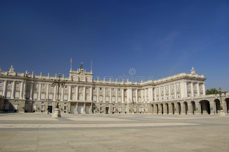 Royal Palace, Madrid imagen de archivo
