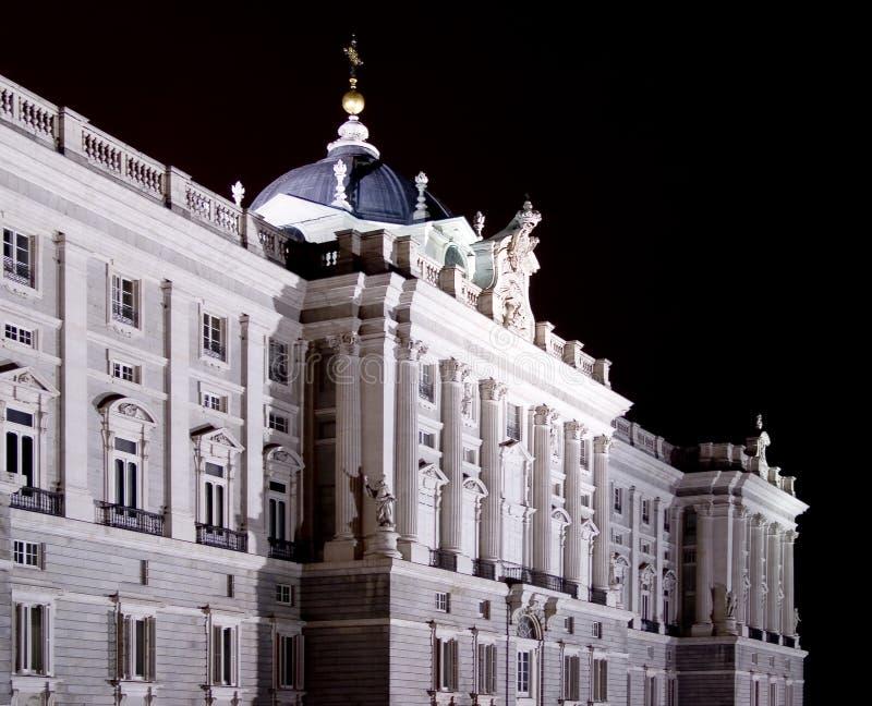 Royal Palace of Madrid stock image