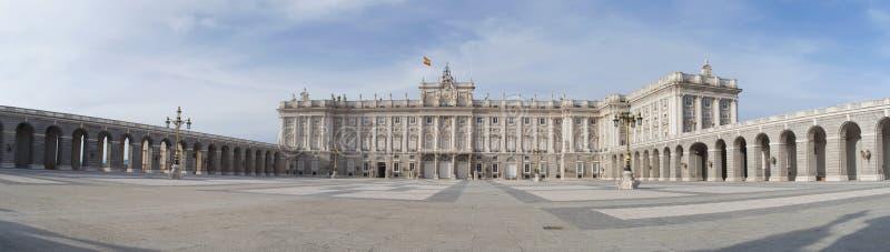 Royal palace of madrid stock photography