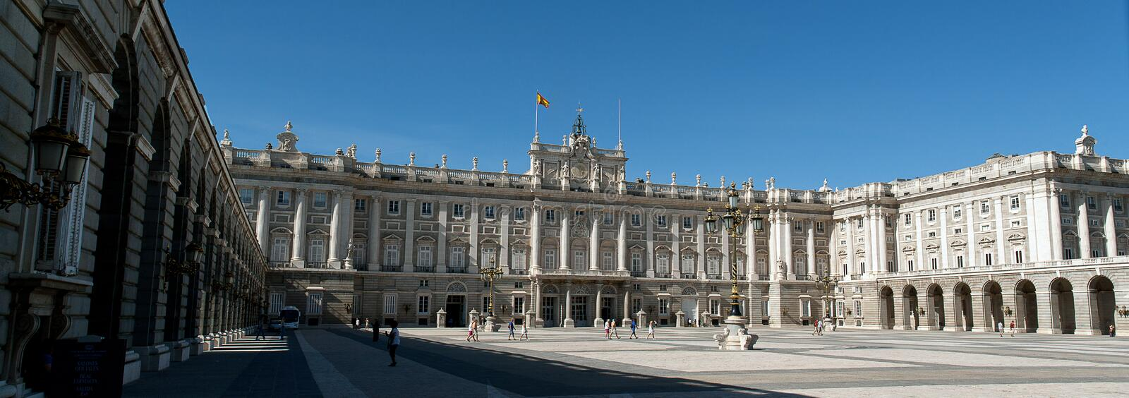 Royal Palace Of Madrid Editorial Image