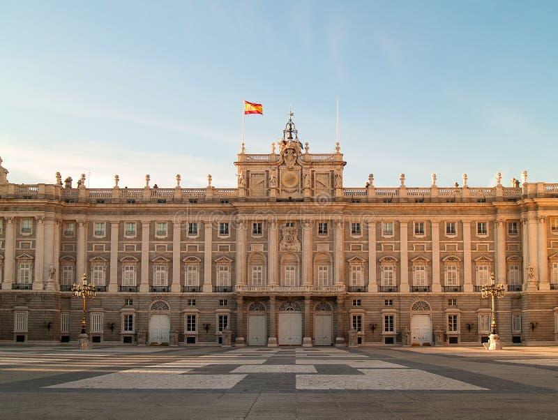Royal Palace, Madrid image stock