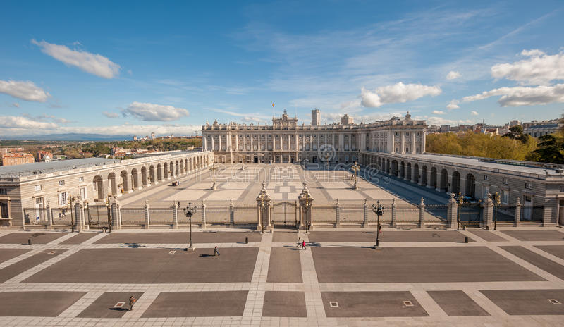 Royal Palace, Madrid, España imágenes de archivo libres de regalías