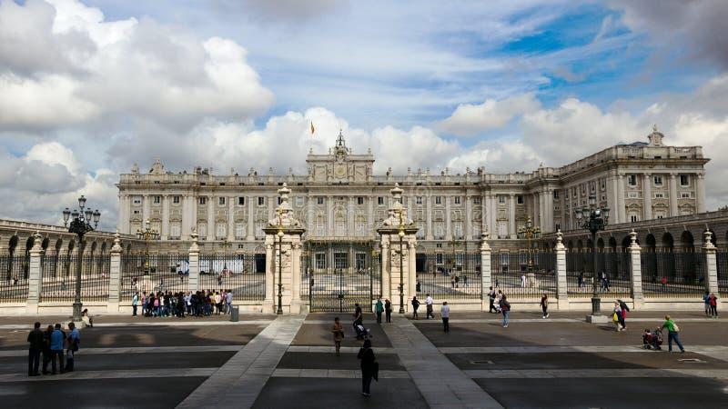 Royal Palace Madrid España imagenes de archivo