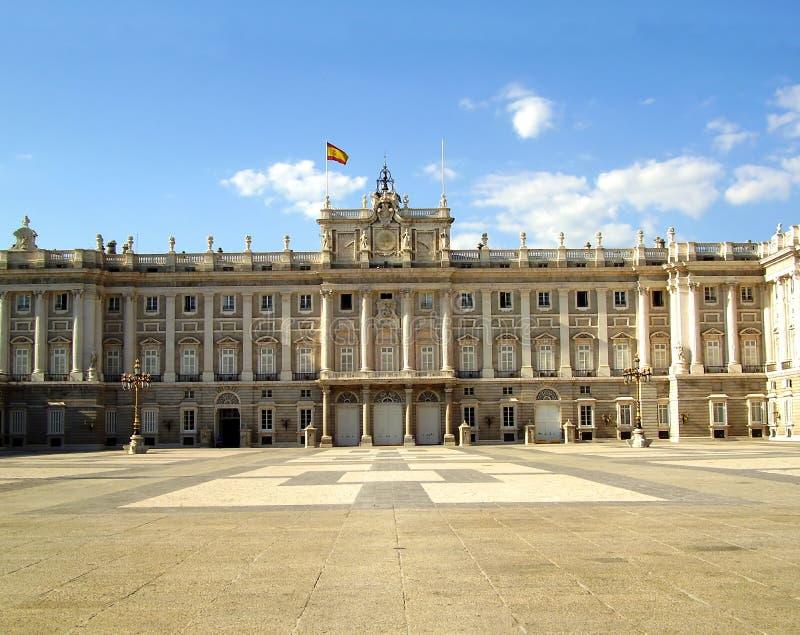 Royal Palace, Madrid, Spain royalty free stock image
