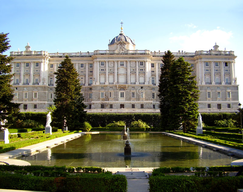 Download Royal Palace, Madrid, Spain Stock Photography - Image: 2776602