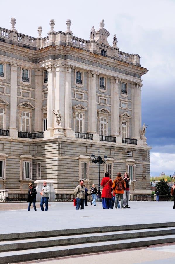 Royal Palace, Madrid, Spain royalty free stock photography