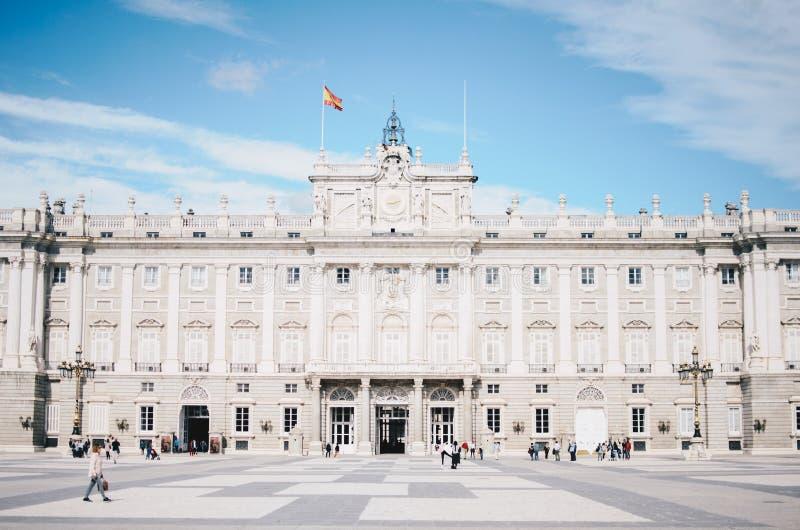 Royal Palace, Madrid stock foto