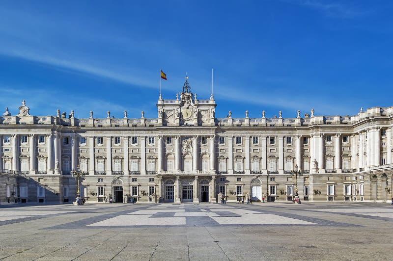 Royal Palace Madryt obrazy royalty free