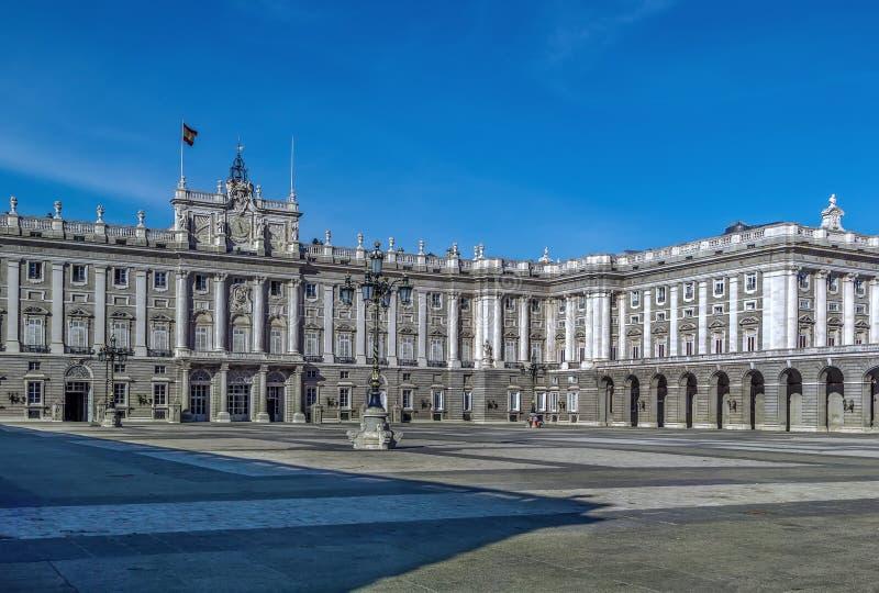 Royal Palace Madryt fotografia stock