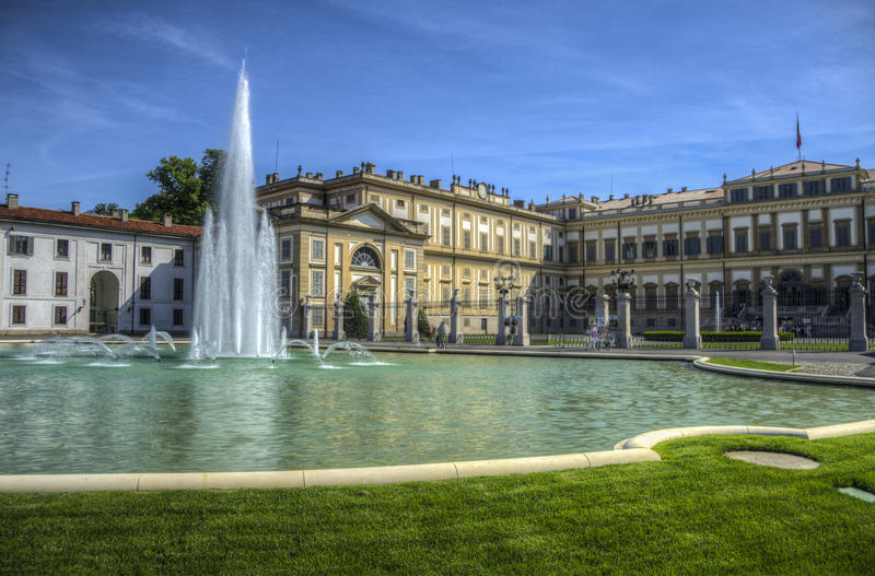 Royal Palace, Monza, Italie images stock