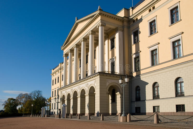 Download The Royal Palace in Oslo stock image. Image of column - 11568173