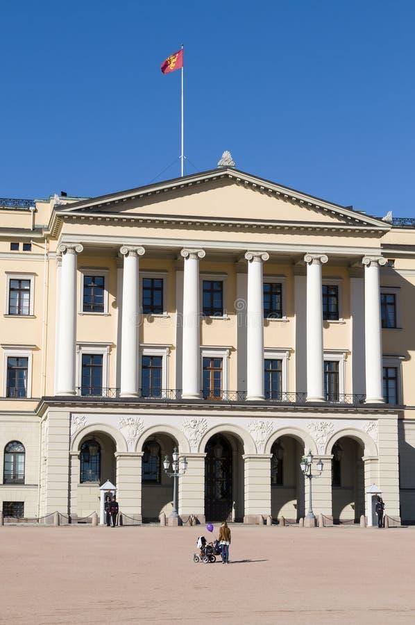 Royal Palace, Oslo zdjęcie stock