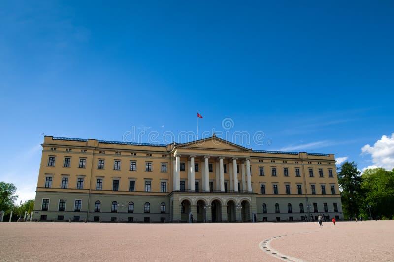 Royal Palace, Oslo, Norway royalty free stock photography