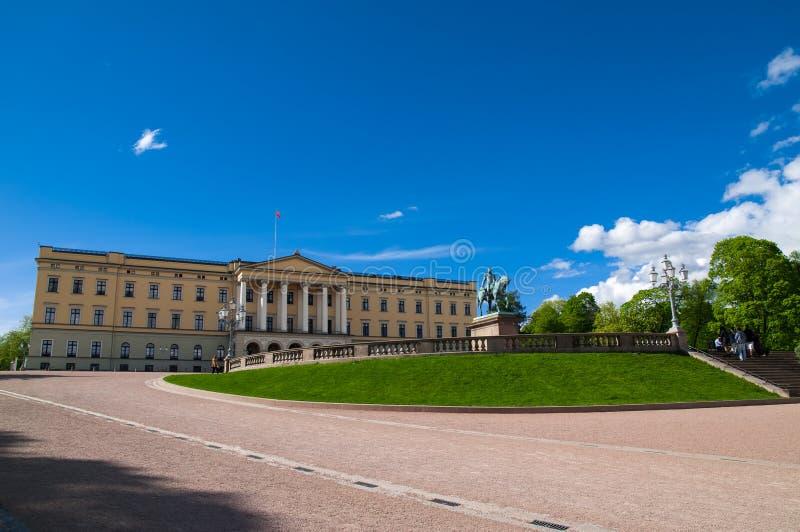 Royal Palace, Oslo, Norway stock photo