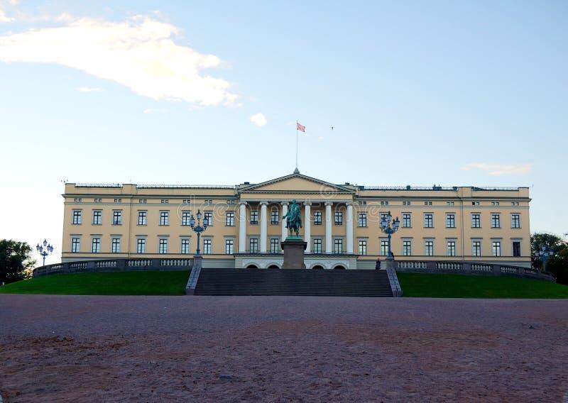 Royal Palace, Oslo Norwegen lizenzfreie stockbilder
