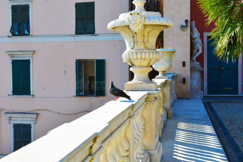 Royal palace Palazzo reale of Genoa, Genova, Italy. Heritage Site by Unesco royalty free stock photos