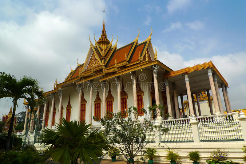 Download Royal Palace in Phnom Penh stock photo. Image of buddism - 22778514