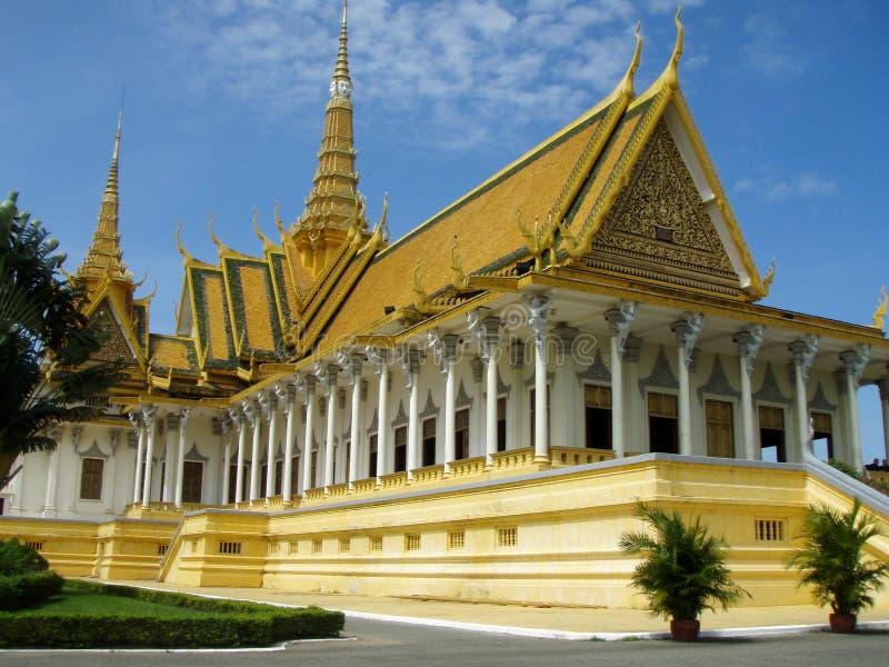 Royal Palace Of Phnom Penh Stock Photos