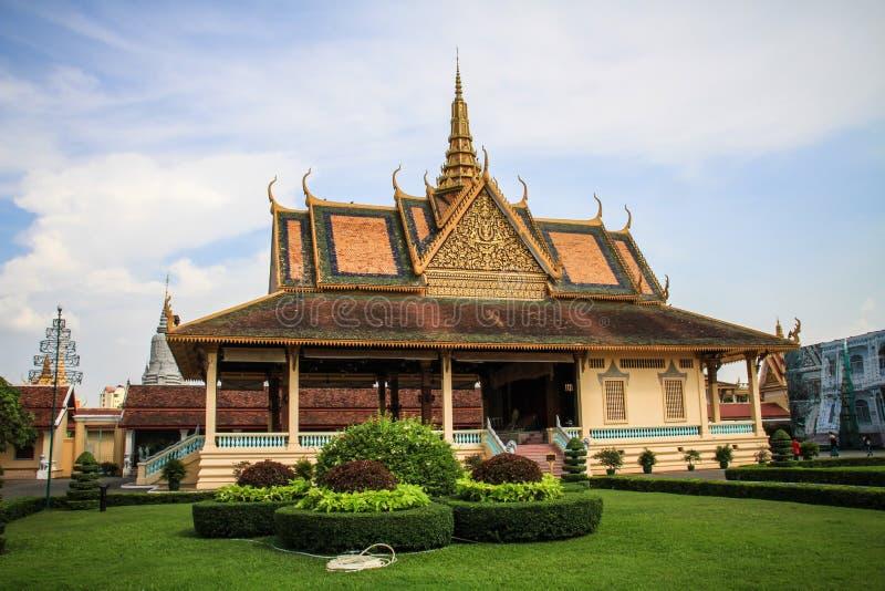 Royal Palace, Phnom Penh, Cambodge image stock