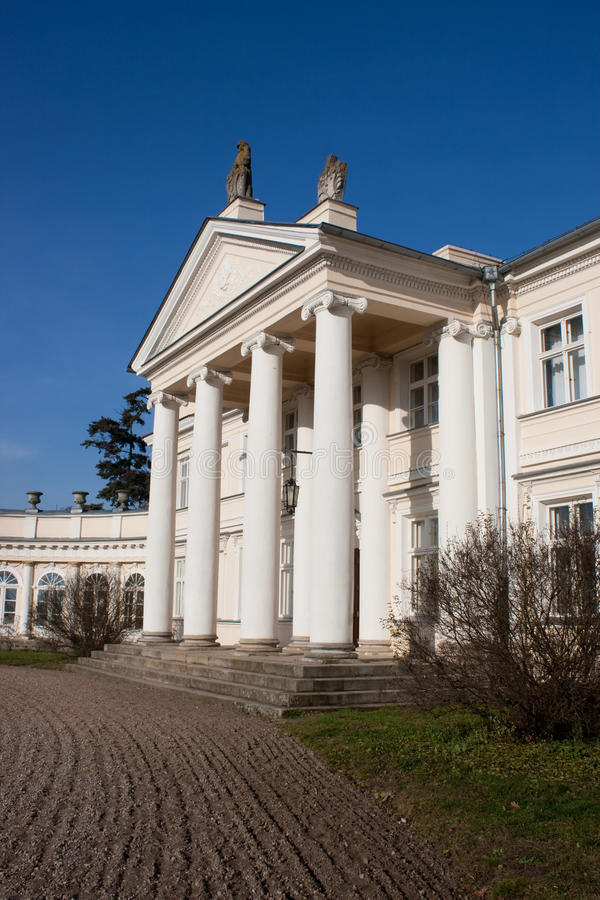 Royal Palace in Poland stock photography