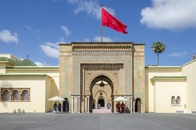 Royal Palace Rabat fotos de archivo libres de regalías