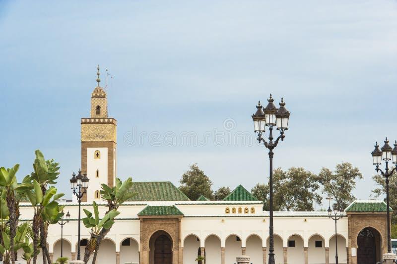 Royal Palace Rabat, Marocco fotografia stock