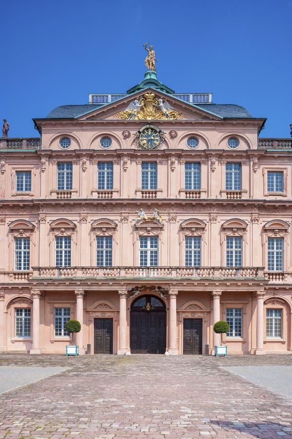 Royal Palace in Rastatt stock images