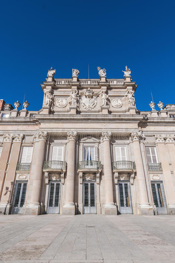 Download Royal Palace At San Ildefonso, Spain Stock Image - Image: 25449745