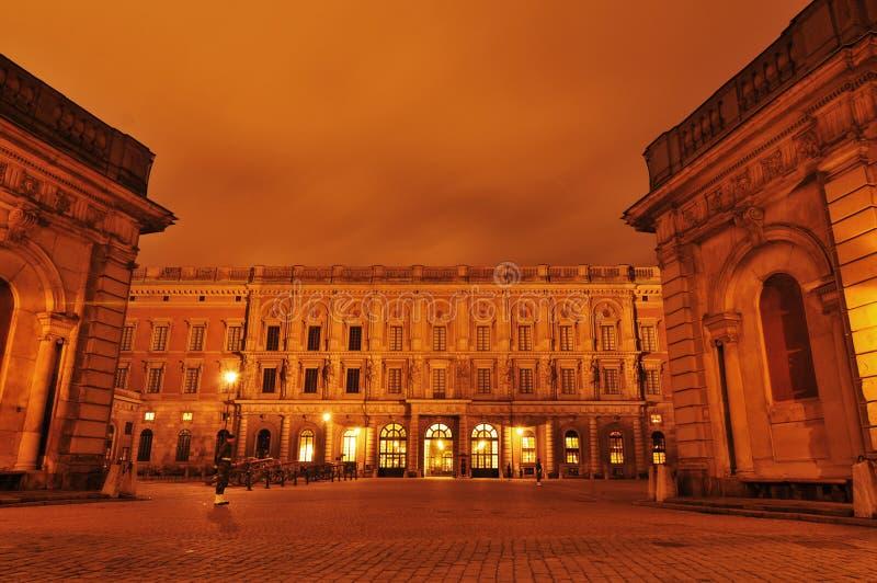 Royal Palace, Stockholm royalty-vrije stock afbeelding