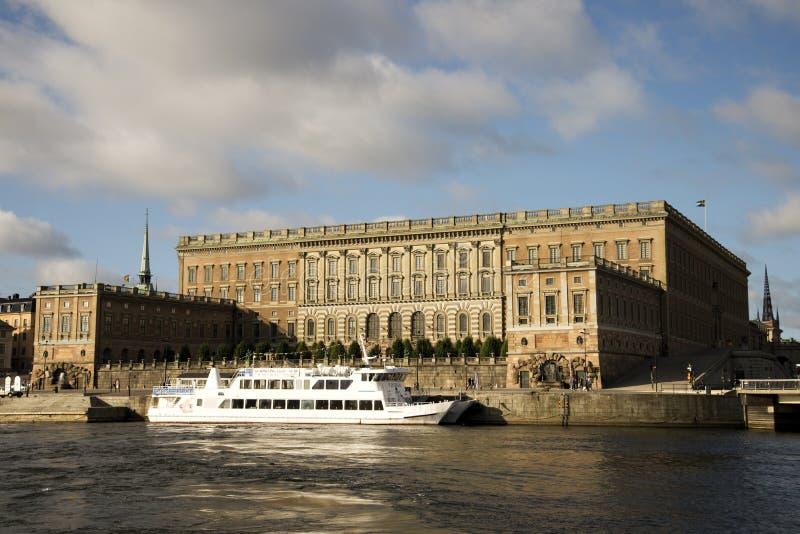 Royal Palace, Stockholm royalty-vrije stock afbeeldingen