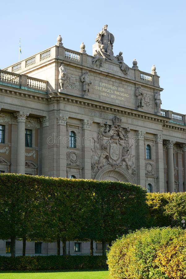 Royal palace in Stockholm Sweden royalty free stock image